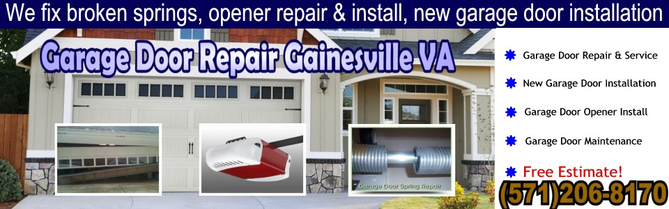 Garage Door Repair Gainesville VA (571)206-8170  sc 1 th 125 & Garage Door Repair Gainesville VA|Free Estimate| (571)206-8170. Garage pezcame.com